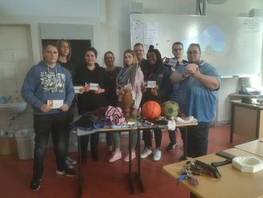 Schüler-Engagement im Sprachendorf